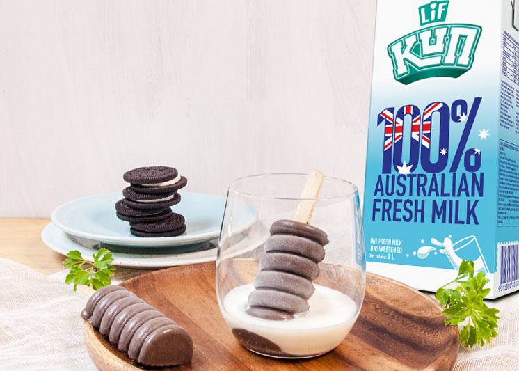 Kem Socola Nhúng Sữa