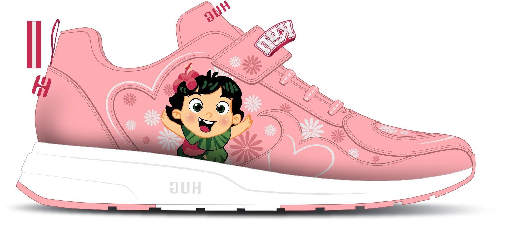 1. Giày TT hồng