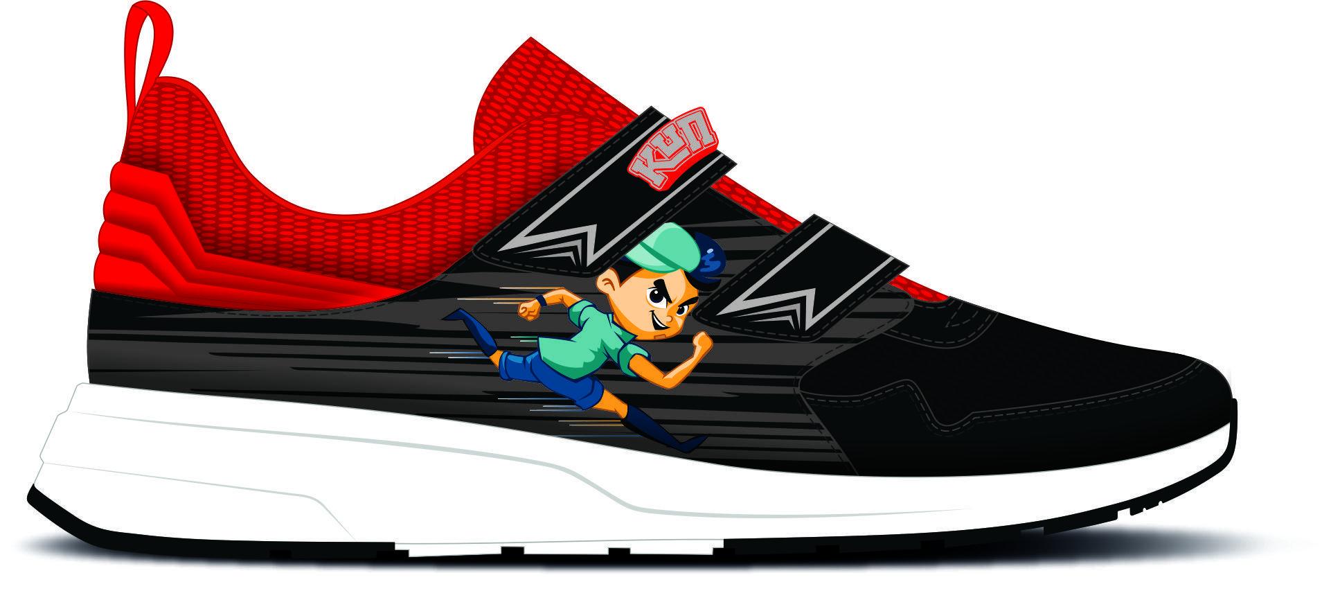 3. Giày CC đỏ đen